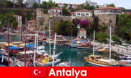 Ваканционен курорт Турция Анталия на брега на Средиземно море