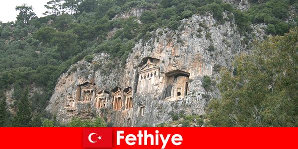 Град Фетхие в югозападна Турция