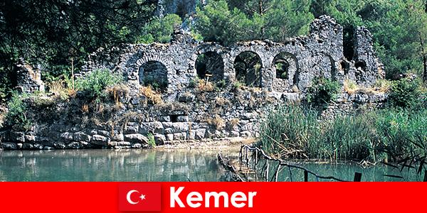 Кемер представлява европейската част на Турция