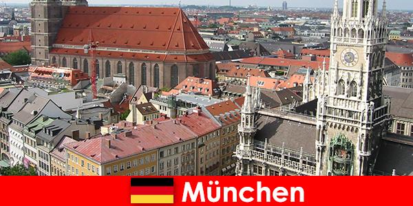 Като отдих с възможности за джогинг или фитнес в град Мюнхен