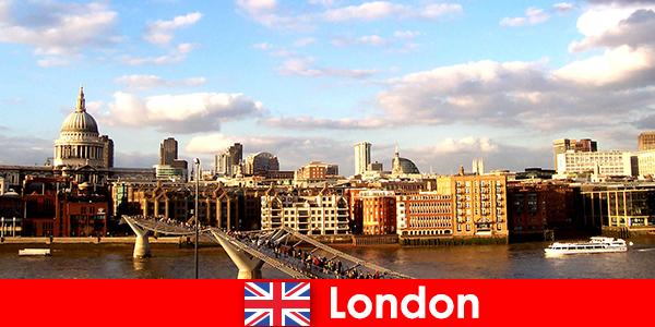 Развлечения за туристи в град Лондон от Англия