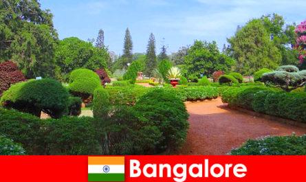 Ваканционерите в Бангалор обичат успокояващите красиви паркове и градини
