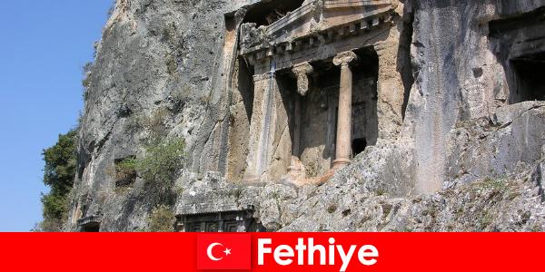 Фетие древен град край морето с много паметници