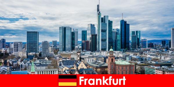 Туристически атракции във Франкфурт, метрополията за високи сгради