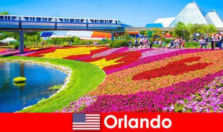 Орландо е туристическата столица на САЩ с множество тематични паркове