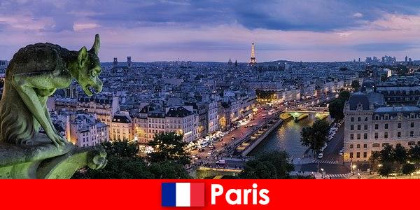 Париж е град на художника със специално очарование за сградите