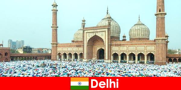 Делхи е метрополия в северната част на Индия със световноизвестни мюсюлмански сгради
