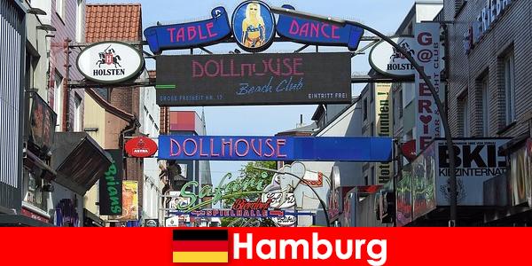 Хамбург Репербан – Нощни бордьори и ескорт услуги за секс туризъм