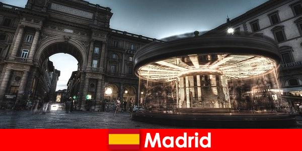 Мадрид, известен със своите кафенета и улични търговци, си заслужава почивка в града