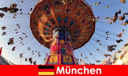 Международните спортни събития и Октоберфест в Мюнхен са атракция за гостите