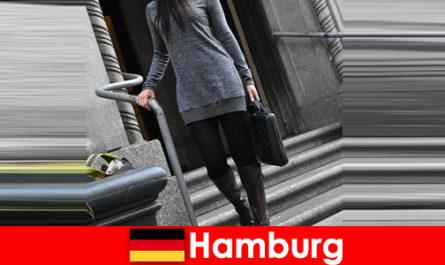 Елегантните дами в Хамбург развалят пътниците с ексклузивна дискретна услуга за ескорт