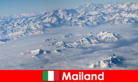 Милано един от най-добрите ски курорти за туристи в Италия