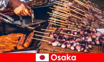 Осака е японската кухня и пристанище за всеки, който търси ваканционно приключение