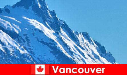 Град Ванкувър в Канада е основната дестинация за планински туризъм