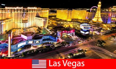 Ослепителен рай за игри в Лас Вегас, САЩ за гости от цял свят