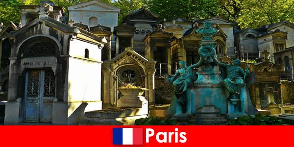 Европейско пътуване за любителите на гробищата с необикновени гробове във Франция Париж