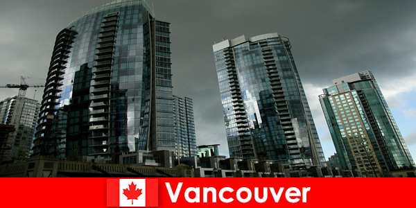 За непознати, Ванкувър в Канада винаги е дестинация за налагане на високи сгради