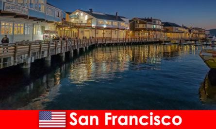 Сан Франциско в Съединените щати, брегът е таен любимец на туристите