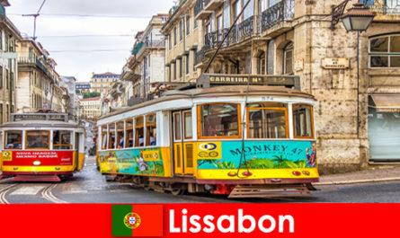 Исторически улици на Лисабон Португалия с нотка носталгия по културния пътешественик