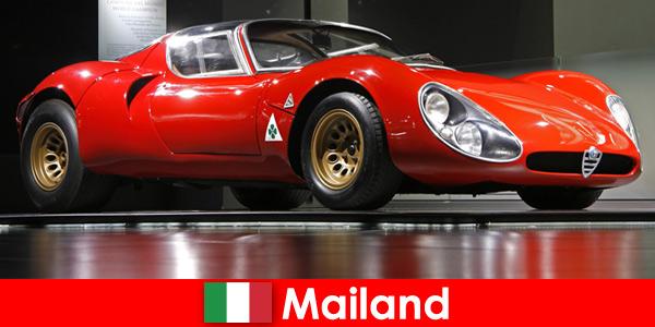 Милано Италия винаги е била популярна туристическа дестинация за любителите на автомобили от цял свят