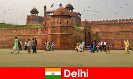 Ярък живот в Делхи Индия за културни пътешественици от цял свят