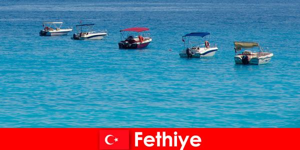 Турция Blue Voyage и белите плажове с нетърпение очакват туристите във Фетие за релакс