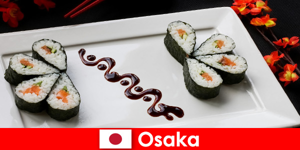 Осака Япония за непознати обиколка на града с храна