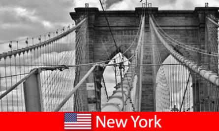 Спонтанно пътуване в чужбина до метрополиса на Ню Йорк САЩ