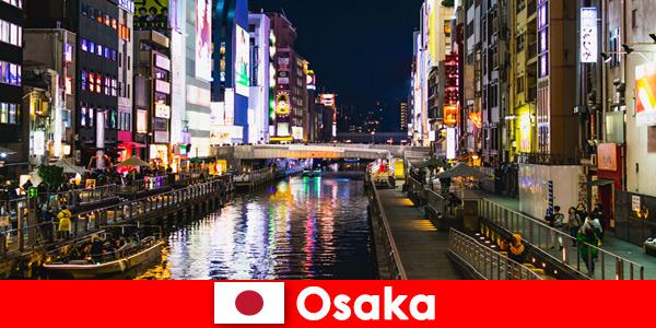 Развлекателни райони и деликатеси очакват задгранични туристи в Осака, Япония