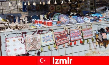 Разходка за непознати в базарните райони на Измир, Турция