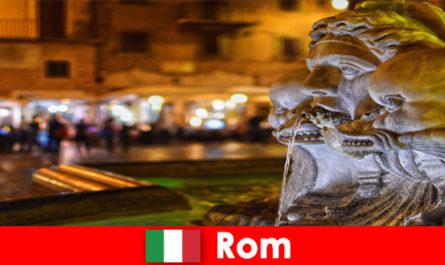 Автобусна обиколка за седмични гости през прекрасния град Рим Италия