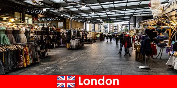 Лондон Англия е най -добрият адрес за пазаруващи туристи