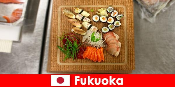Фукуока Япония е популярна дестинация за кулинарните пътешественици