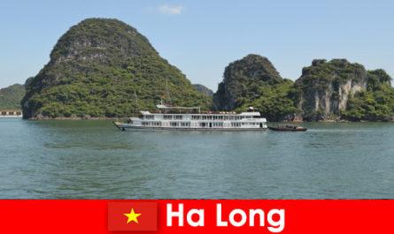 Многодневните круизи за туристически групи са много популярни в Ха Лонг Виетнам