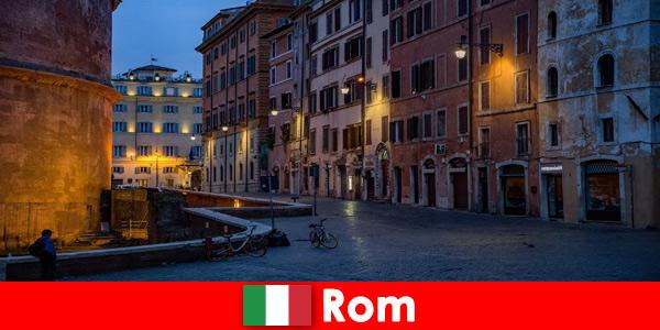Кратко пътуване за туристи през есента до Рим Италия до най -красивите забележителности