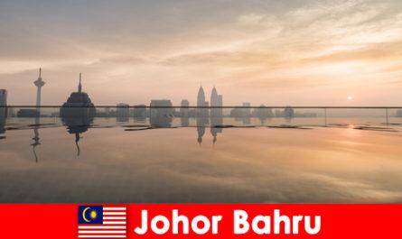 Резервации на хотели за туристи в Джохор Бару Малайзия винаги резервират в центъра на града